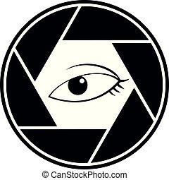 eye cam icon