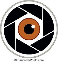 eye cam symbol
