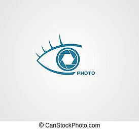 eye photo icon