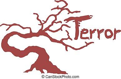fantasy terror illustration - Creative design of fantasy ...