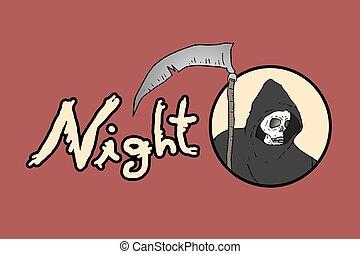 fear night dead symbol