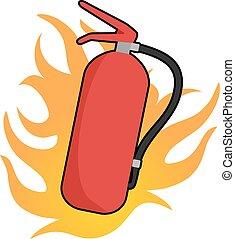 Fire Extinguisher icon - Creative design of Fire...