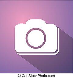 flat cam symbol - Creative design of flat cam symbol