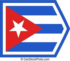 flat cuba symbol