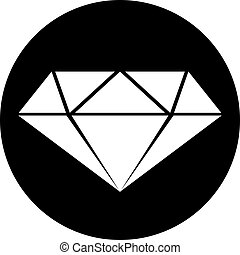 flat diamond symbol