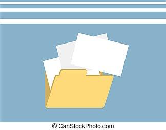 folder icon illustration