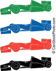 formula car colors