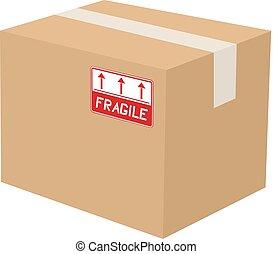 fragile box - Creative design of fragile box
