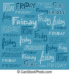 Friday background
