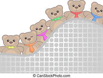 Friends bears