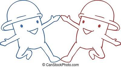 friends puppet draw - Creative design of friends puppet draw