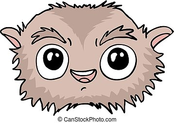 funny animal vector clip art royalty free 231 786 funny animal rh canstockphoto com funny animal faces clipart funny animal faces clipart
