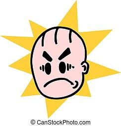 Funny boy cartoon - Creative design of Funny boy cartoon