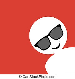 funny sunglasses face