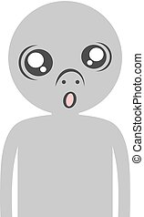funny ugly face - Creative design of funny ugly face