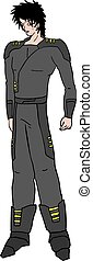 future fashion character