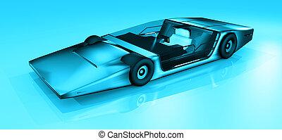Future sport car