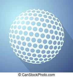 futuristic ball