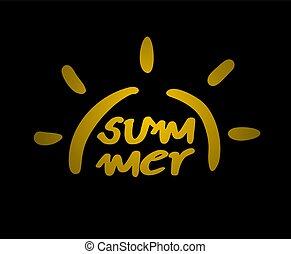 golden summer symbol