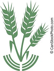 green agriculture symbol