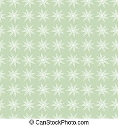green flowers seamless background