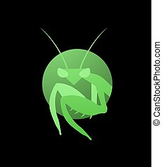 green mantis symbol