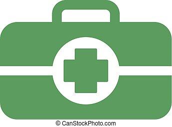 green medicine icon