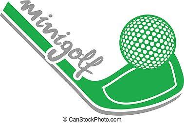 green minigolf icon