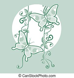 Green nice decorative