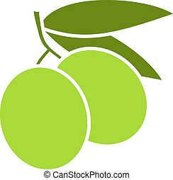 green olive icon