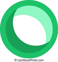 green round icon