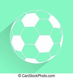 green soccer icon