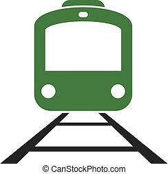 green train icon
