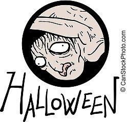 halloween fear face