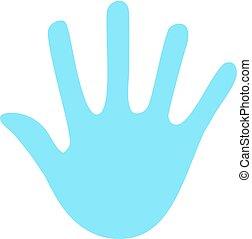 hand peace symbol