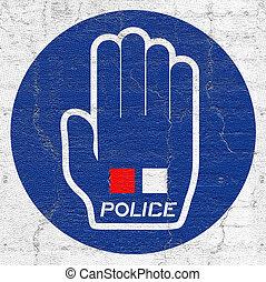Hand police