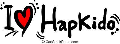 hapkido love - Creative design of hapkido love