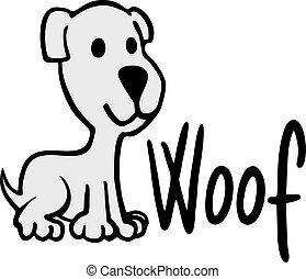 happy dog - creative design of happy dog