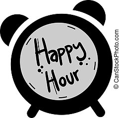 happy hour - Creative design of happy hour
