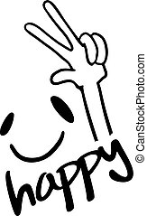 happy smile icon