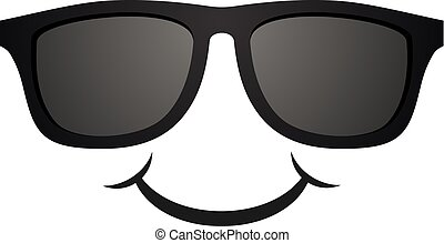 happy sunglasses face
