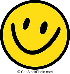 happy yellow face