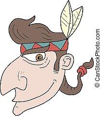 Head indian