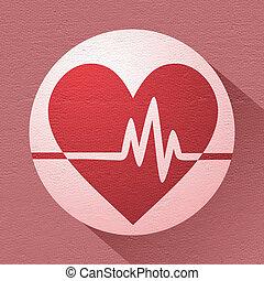 health symbol - creative design of health symbol