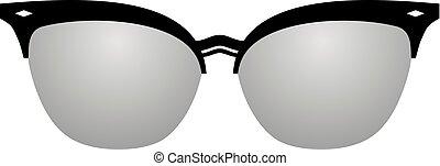 hipster eyeglasses - Creative design of hipster eyeglasses