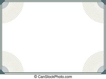 horizontal elegant frame background