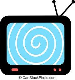 hypnosis television screen