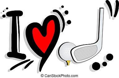 I love golft