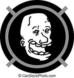 Icon rare face