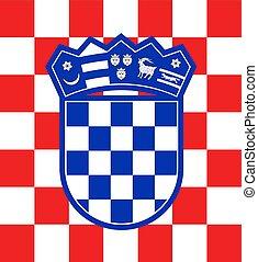 imaginative croatia emblem - Creative design of imaginative...